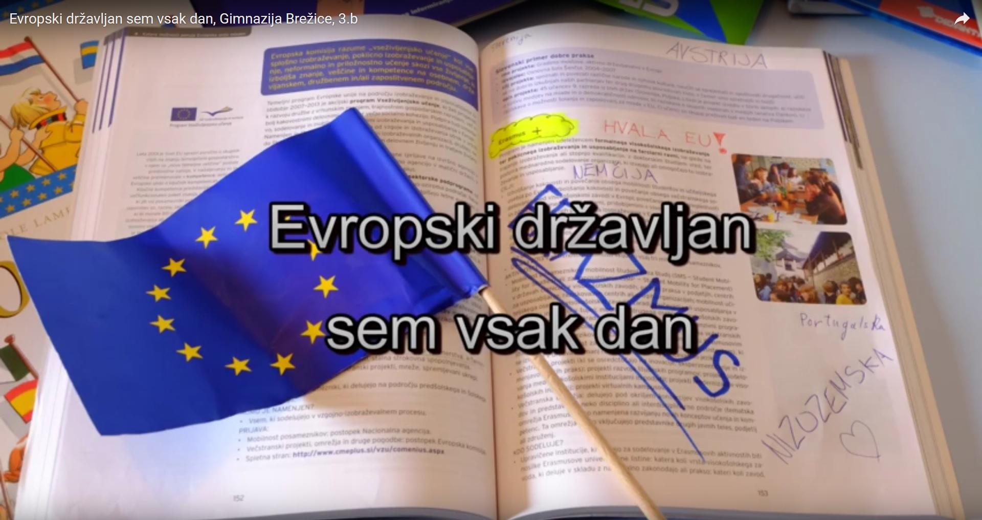 Evropski državljan sem vsak dan