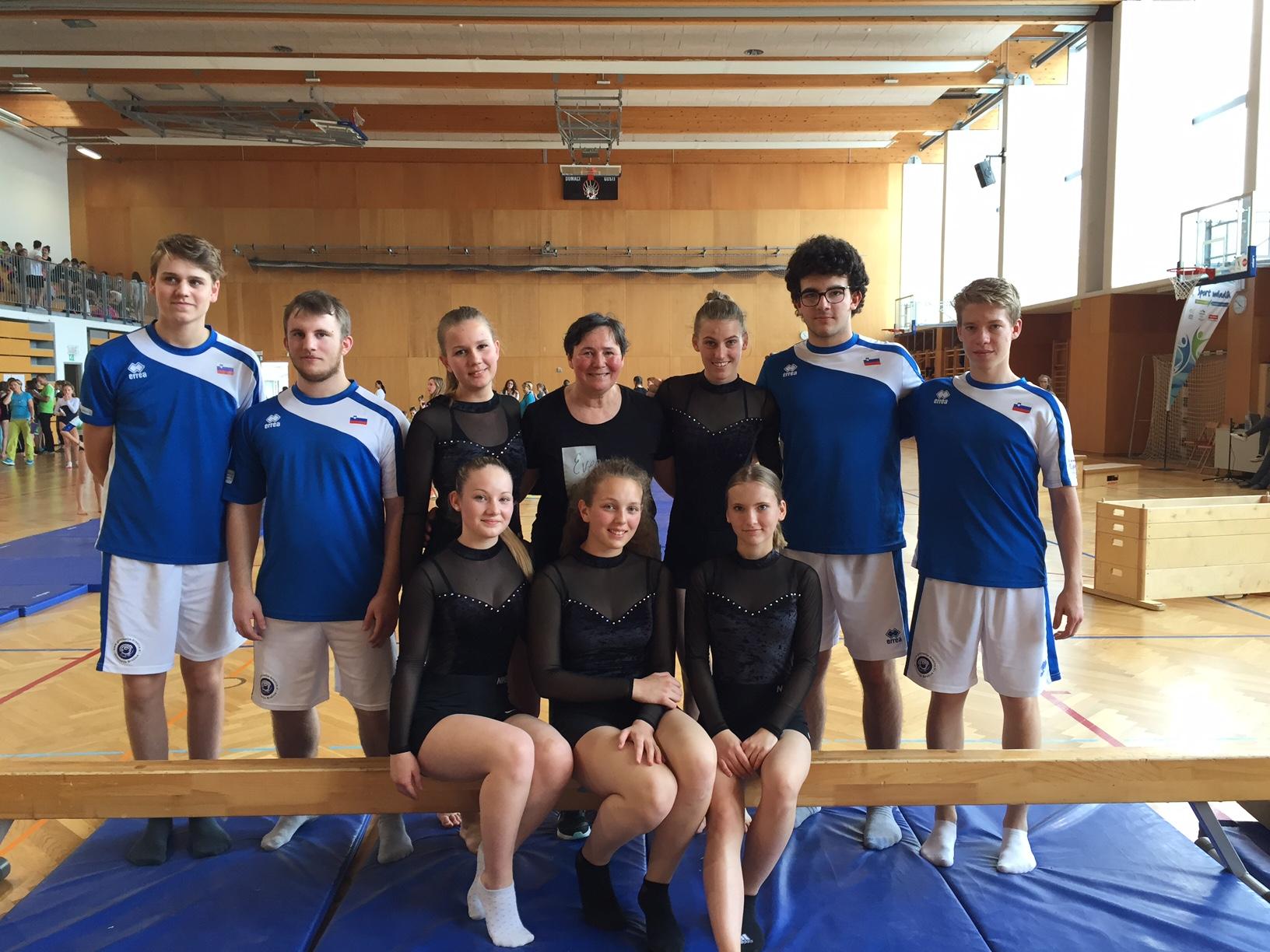 Državno šolsko prvenstvo v športni gimnastiki
