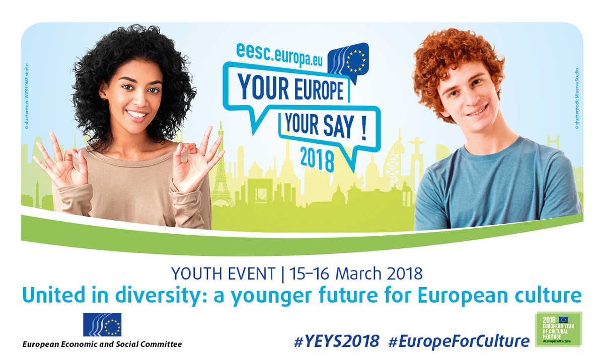 Vaša Evropa, vaš glas! (YEYS) 2018