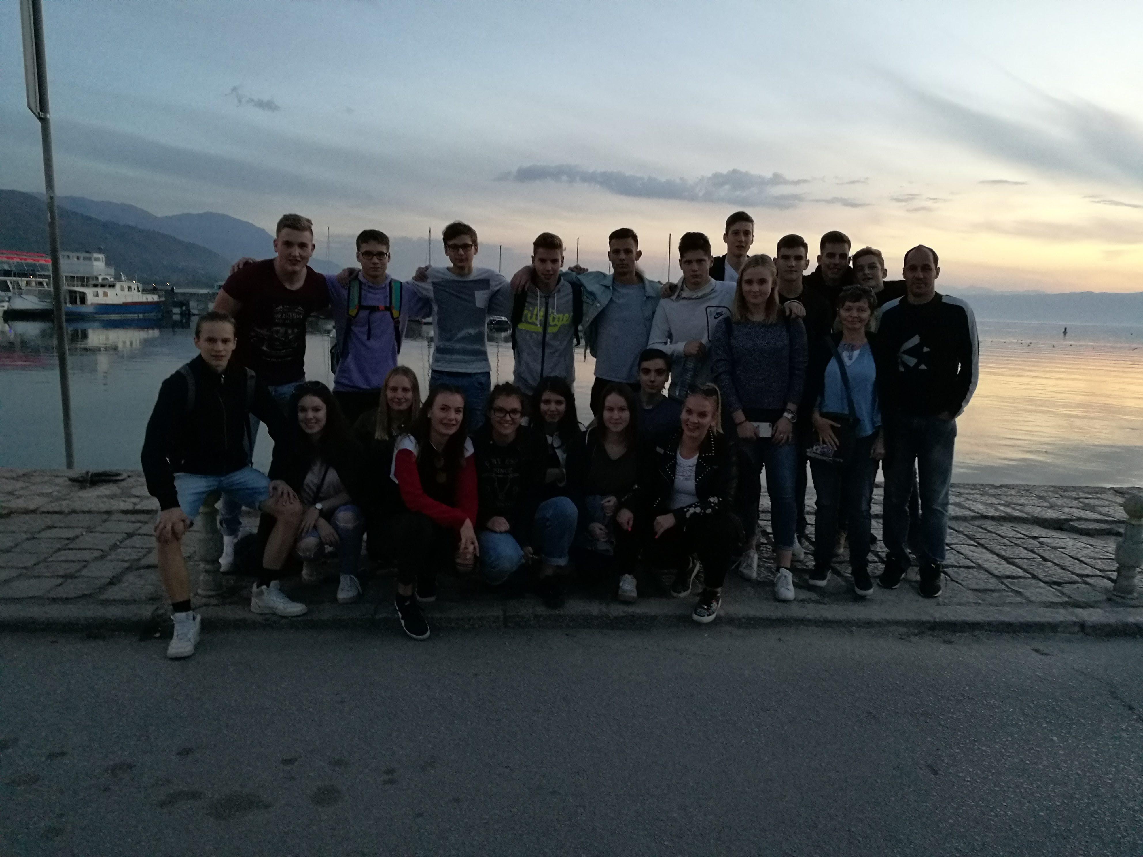 Mednarodna izmenjava dijakov v Makedoniji
