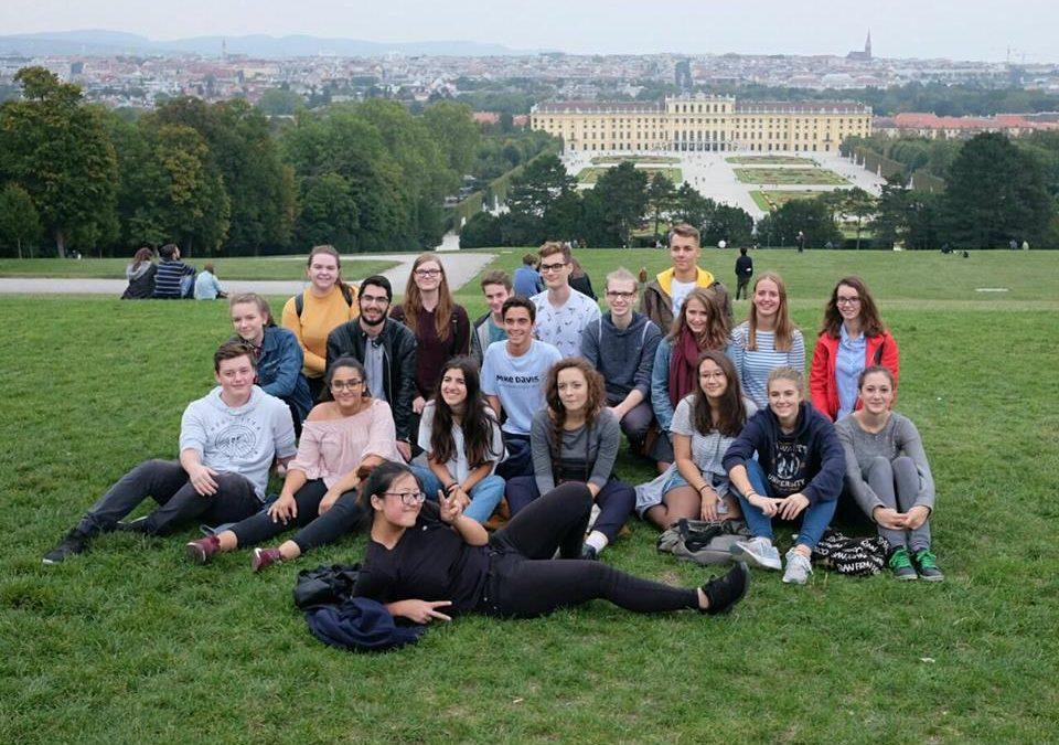 Dunajska gimnazija gostila brežiške gimnazijce mediatorje